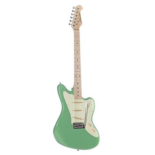 E-Gitarre JM10 MN SFG Surf Green