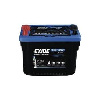 Sp/éciale B/âteaux /& Caravanes Batterie 12V Garantie constructeur 2 ans Haute performance 70Ah BATTERIE MARINE DUAL AGM EXIDE Exp/érience d/'Equipementier d/'Origine