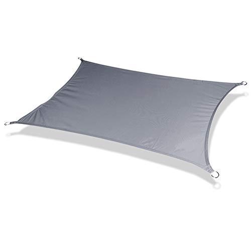 Shade Sun Sonnensegel Cappuccino Rechteck Canopy Sonnenschutz-Markise UVBlock Sail Garten Innenhof (Color : Dark Gray)