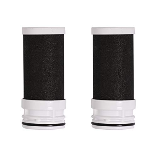IKT Faucet Water Filter Replacement,Coconut Activated Carbon,2 Packs,for 1 Year use