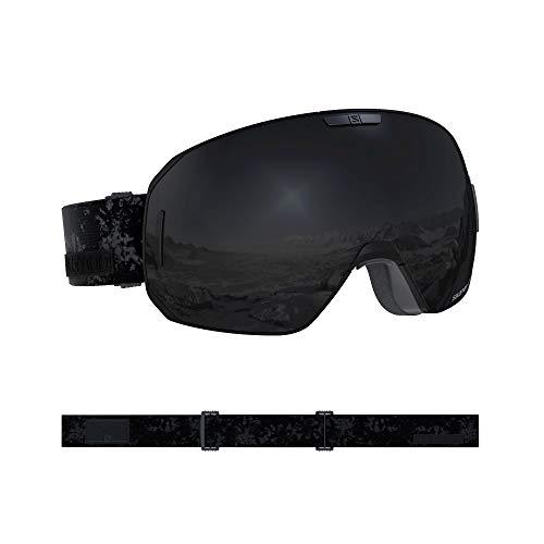 Salomon S/Max Schwarz, Skibrille, Größe One Size - Farbe Black