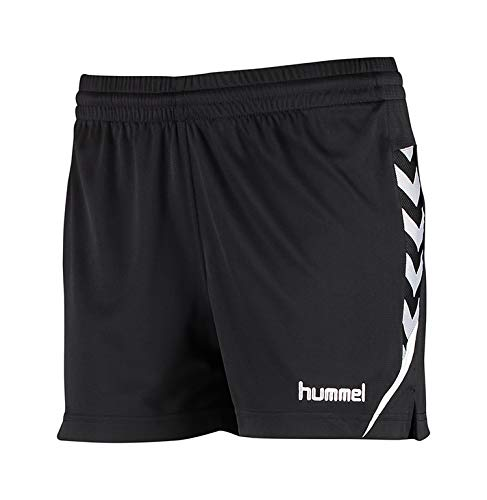 hummel Damen Auth Charge Poly Shorts Wo Black, XS