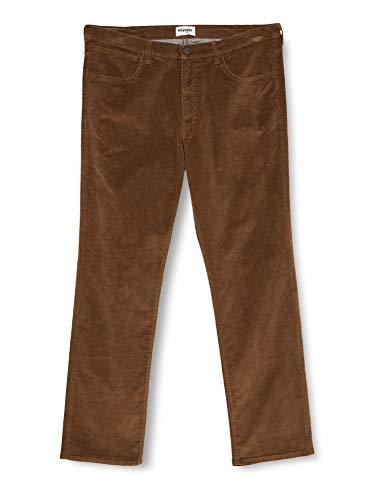 Wrangler Herren Arizona Corduroy Jeans, Teak, 40/34