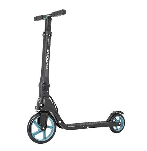 HUDORA Tour Big Wheel Scooter 200 Roller, Petrol, one Size