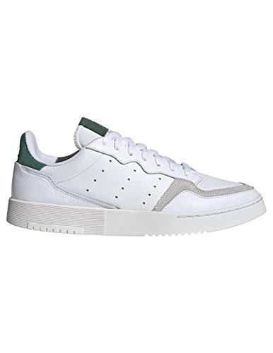 adidas Originals Supercourt, Footwear White-Footwear White-Collegiate Green, 11