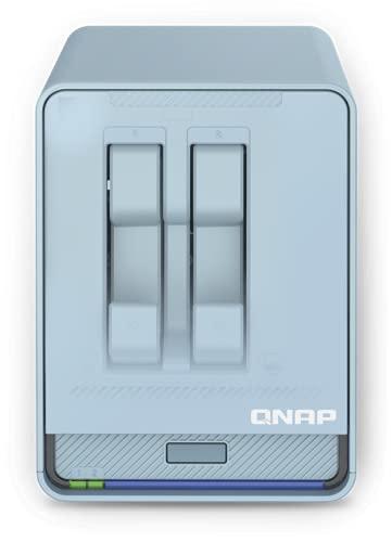 QNAP QMiroPlus-201W - Next-Generation Tri-Band Wi-Fi Mesh AC2200 2.5GbE NAS and SD-WAN Router