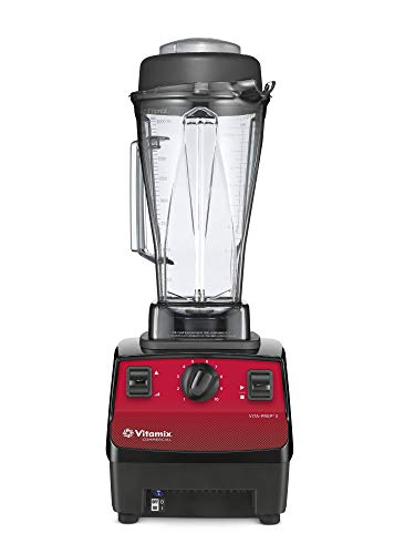 Vitamix, 64 Oz 62826 Vita-Prep 3 Food Blender, Red