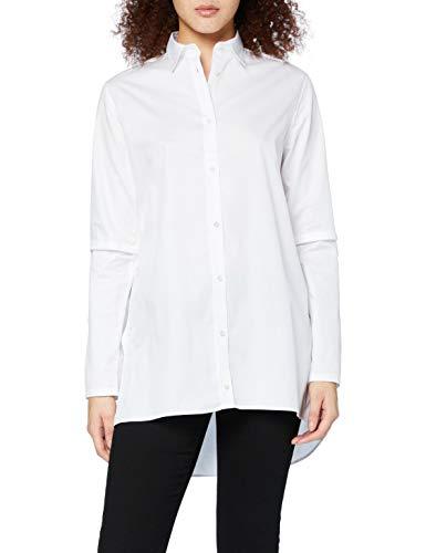 Falke Camiseta Larga para Mujer, Mujer, Camisa para Mujer, 66035, Blanco, 44