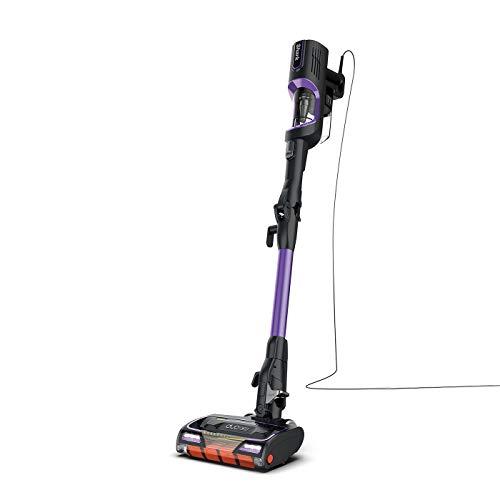 Shark Corded Stick Vacuum Cleaner [HZ500UK], Anti Hair Wrap, Purple