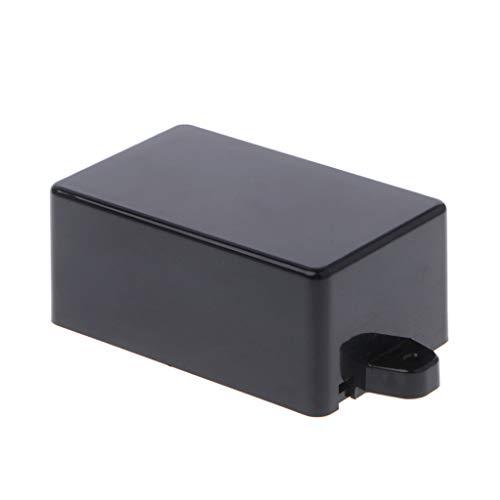 JENOR Caja de plástico impermeable electrónica para proyectos, soporte para instrumentos, 82 x 52 x 35 mm