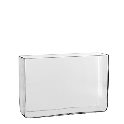 Mica decorations Britt Vase, Glas, Transparent, 30 x 10 x 20 cm