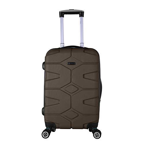 SHAIK SERIE RAZZER SH002 DESIGN PMI Hartschalen Kofferset, Trolley, Koffer, Reisekoffer, 4 Doppelrollen, 25% mehr Volumen durch Dehnfalte (Anthrazit, M -...