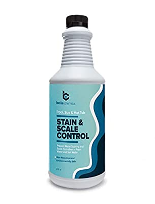 Belle Chemical Stain and Scale Control for Pools, Spas and Hot Tubs