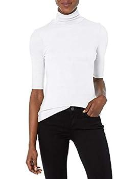 Michael Stars Women s T-Shirt White One Size