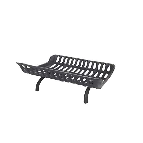 Find Bargain HY-C Liberty Foundry G1024-BX Fire Grate, 24 W x 15 D x 6.5 H, Black