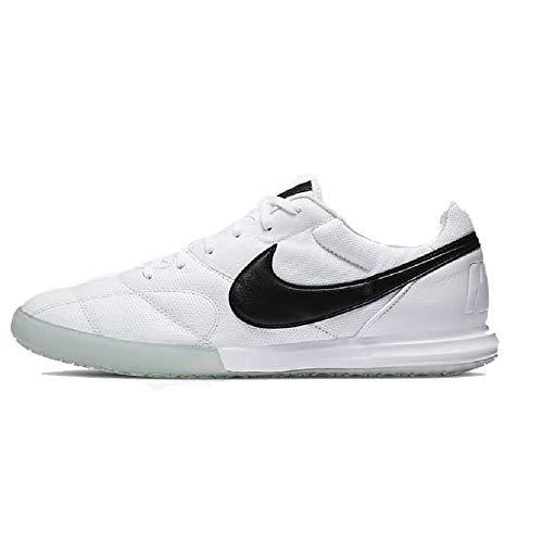 Nike Premier II Sala (IC), Scarpe da Calcio Unisex-Adulto, White/Black, 44 EU