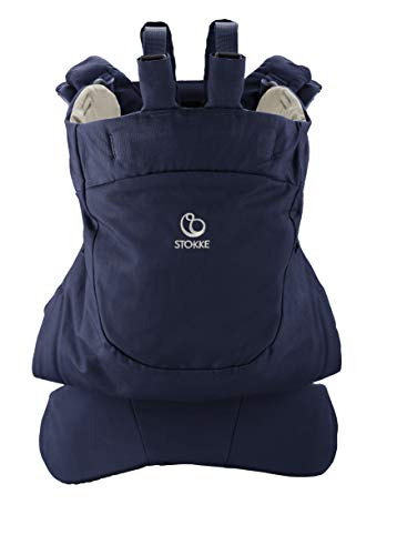 Stokke - Parte trasera para mochila portabebés mycarrier frontal azul noche