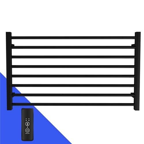 bbee.tech Heated Towel Rack, Towel Warmer with Timer, Wall Mounted hot Towel Warmer for Bathroom,...