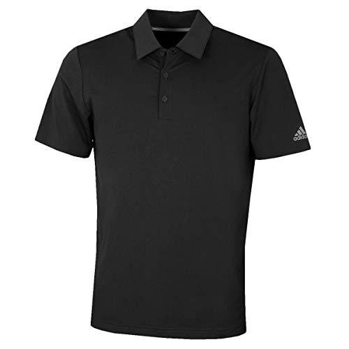 adidas Ultimate 365 Solid Crestable Polo Shirt, Negro (Negro Dq2337), X-Large (Tamaño del Fabricante:XL) para Hombre