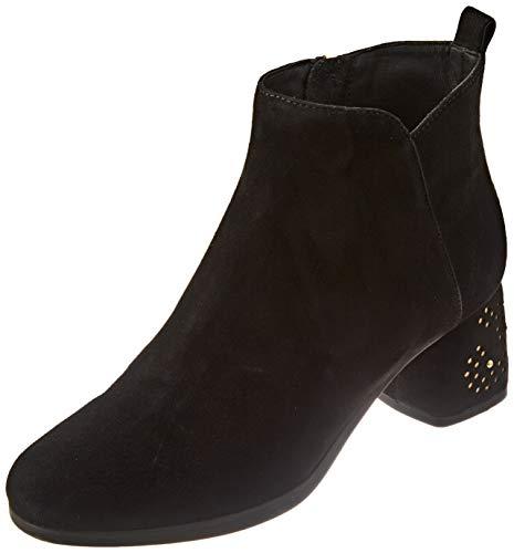 GEOX D CALINDA MID L BLACK/GOLD Women's Boots Classic size 39(EU)