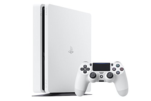PlayStation 4 Slim (PS4) - Consola de 500 GB, Color Blanco