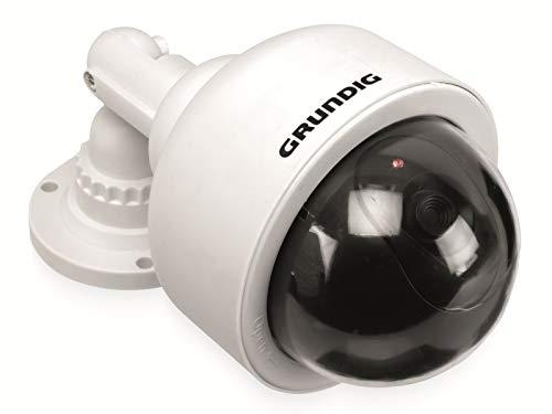 Grundig Überwachungskamera mit LED-Lampen, Überwachungskamera für Haus