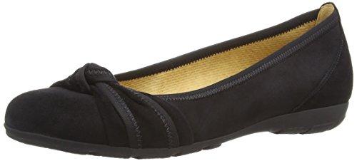 Gabor Shoes Damen Gabor Casual Geschlossene Ballerinas, Schwarz (schwarz 17), 40 EU