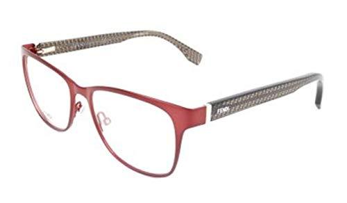 Fendi FF 0110 H1T/16 -53 -16 -135 Fendi Brillengestelle FF 0110 H1T/16 -53 -16 -135 Rechteckig Brillengestelle 53, Rot