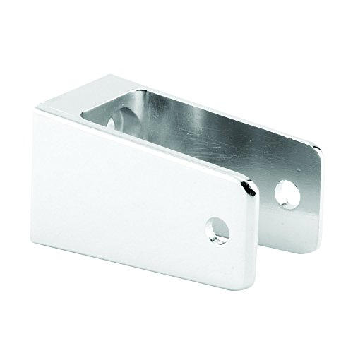 Sentry Supply 650-6428 U Shape X-Long Wall Bracket, 1-1/4 inch x 2-1/2 inch, Chrome Plated, , Pack of 1