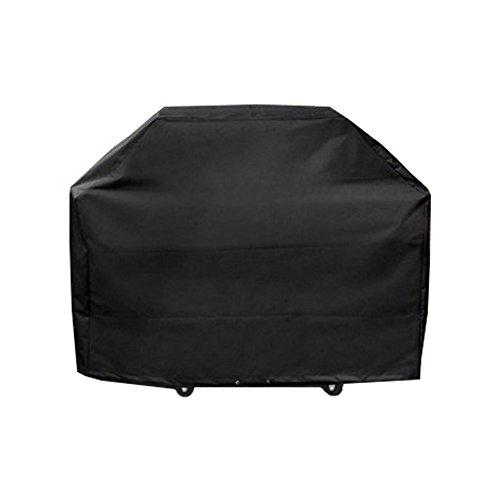 Meijunter M 100x60x150cm Noir BBQ Couverture Bâche de Protection Couvercle de Gril à gaz Lourd pour Patio de Jardin extérieur Anti-UV/Anti-l'eau/Anti-l'humidité
