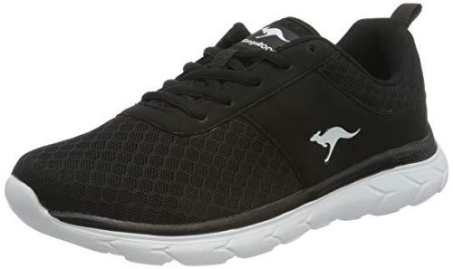 KangaROOS Damen KN-Bumpy Sneaker, Jet Black 5001, 42 EU