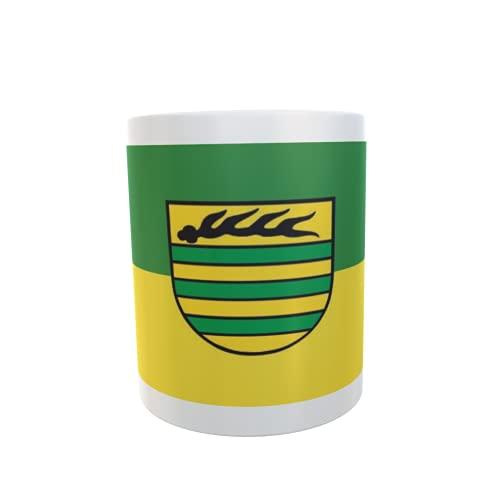 U24 Tasse Kaffeebecher Mug Cup Flagge Aichtal