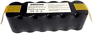 Areotek 4500mAh 3.5 Hours Working Time Roomba Battery Replacement Compatible with R3 500 600 700 800 Series Vacuum Cleaners