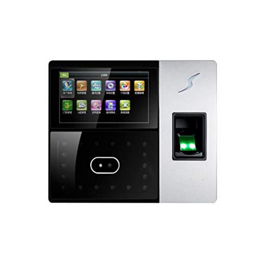 ZXGHS Macchina di Presenza Dipendenti, Schermo LCD Presenze/La Faccia di Impronte Digitali Pugno /...