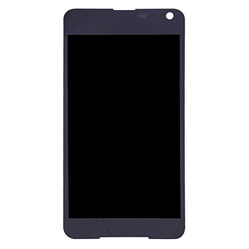 XINGCHEN Piezas de Repuesto Pantalla LCD y ensamblaje Completo del digitalizador for Microsoft Lumia 650 (Negro) (Color : Black)