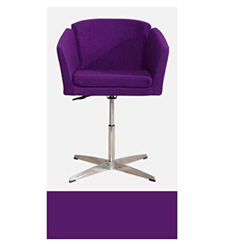 Bar stoel snelle eettafel en stoelen eenvoudige stof vrije tijd bank stoel Modern design 3 Kleur