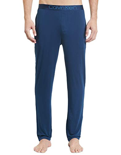 Calvin Klein Men's Ultra Soft Modal Pants, Blue Shadow, L