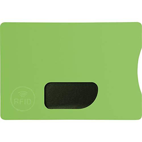 Bullet RFID-Kreditkartenhülle (9 x 6,2 x 0,4 cm) (Limette)