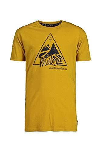 Maloja Chaleschm Herren-T-Shirt S Golden Sun