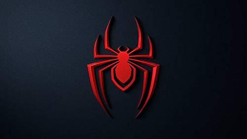 Empire - Póster de Playstation 5 Spider Man Playstation Spiderman Homecoming Miles Morales con acabado mate (30,5 x 45,7 cm), multicolor