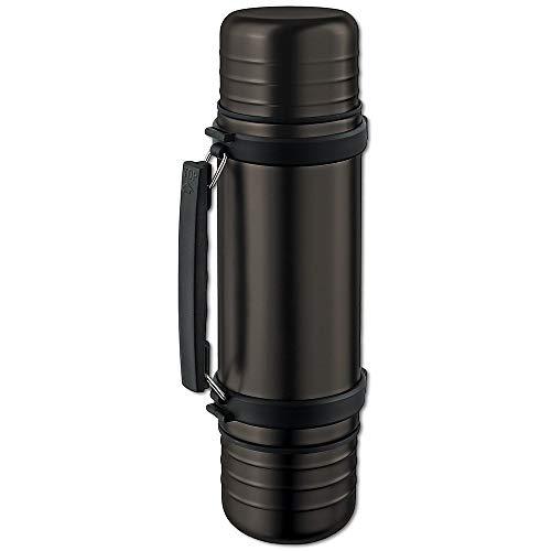 Isosteel Duo Vakuum-Isolierflasche 1 Liter
