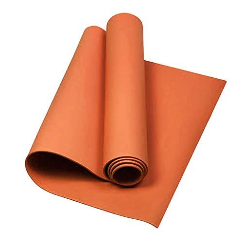Sharplace Estera de Yoga 68 '' Cojín Largo del Cojín de Pilatos del Ejercicio para El Yoga Al Aire Libre del Gimnasio en Casa - Naranja, 173 x 60 x 0.4cm