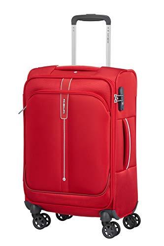 Samsonite Popsoda - Spinner L - Maleta expandible, 78 cm, 105/112.5 L, Rojo (Red)
