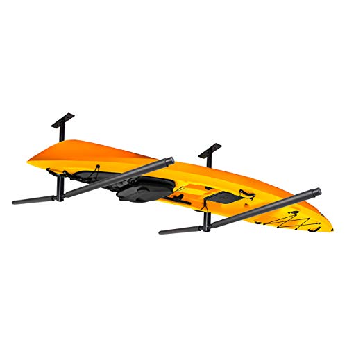 Adjustable Kayak Paddleboard Ceiling Rack Indoor Kayak Storage Hanger