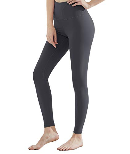 CAMBIVO Leggings para Mujer, Leggins de Cintura Alta con Bolsillos, Pantalón de Deporte Elástico, Chándal No Transparentan, Mallas Elásticas para Running, Invierno, Vestir
