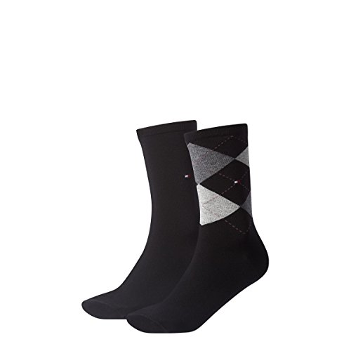 Tommy Hilfiger Damen Socken Check Casual Socken 8er Pack