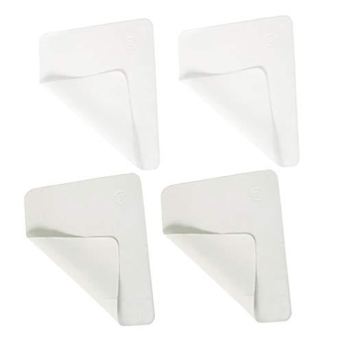MILISTEN 10 Stück Mikrofaser-Reinigungstücher Linsenreinigungstücher Brillenwischtücher für Mobiltelefone Bildschirmbrillen Glaskameraobjektiv (Grauweiß)