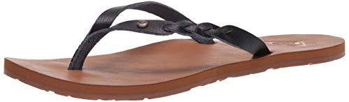 Roxy Damen Liza Flip-Flop Sandale, Schwarz 20, 36 EU