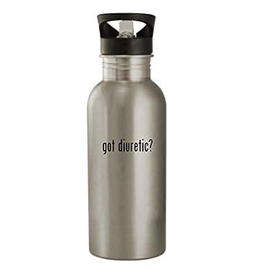 got diuretic? - 20oz Stainless Steel Water Bottle, Silver