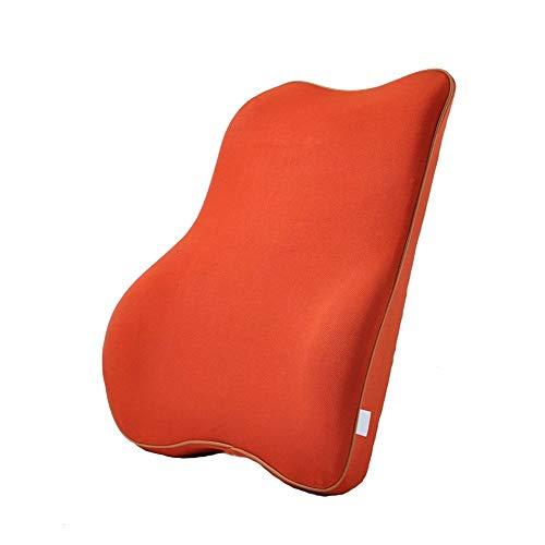 Jianghuayunchuanri auto lendensteun rugkussen ademende rugleuning rugleuning rugleuning rugleuning auto lendenkussen voor bureaustoel autostoel rolstoel en ligstoel Erognomic Design Universal Fit